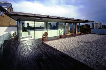 Battersea roof terrace
