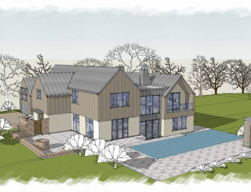 New-Build Eco House, Sussex