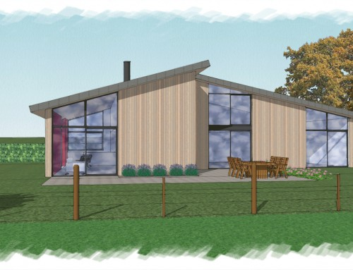 New Build House in Rural Sussex wins approval