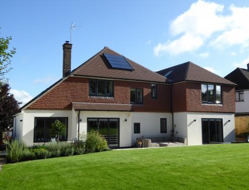 House refurbishment, Groombridge, East Sussex