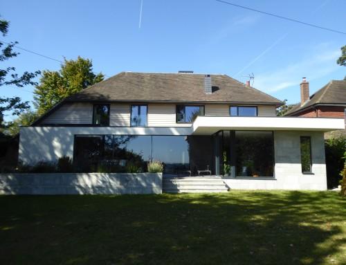 House modernisation, Frant, East Sussex